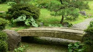 Lawn & Garden:Small Stone Bridge In Japanese Garden Idea Relaxing Japanese  Garden Bridge Design