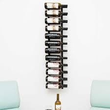 wall mounted metal wine rack. Vintage View Wall Mounted Wine Rack Black 4ft 24 Bottle Capacity In Holder Plan 1 Metal