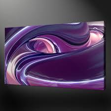 purple wall art large