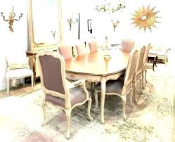 shabby chic dining set kitchen table french style round furniture dinin