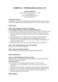 Resume With Skills Section Example Download Resume Skills Section
