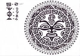 солнце полинезии скачать тату фото эскиз татуировки Tattoo