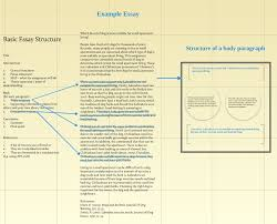 structure of writing an essay co structure