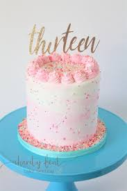 I Remember The Day I Turned 13 And How Charity Fent Cake Design