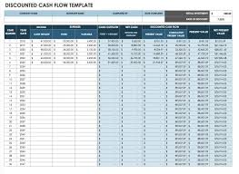 Pro Forma Cash Flow Projections Free Cash Flow Statement Templates Smartsheet