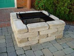 exellent fire diy outdoor fire pits with bricks and diy patio fire pit