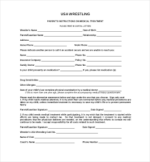 health insurance waiver form template 15 sample medical waiver forms sample forms