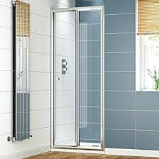 bifold glass shower door glass shower enclosure reversible folding cubicle door frameless folding glass shower doors