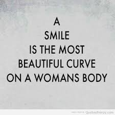 Quotes About Beautiful Woman Smiling