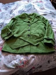 new evans wool blend winter coat size 20 22