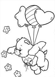 Small Picture Free Printable Care Bear Coloring Pages For Kids