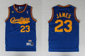 lebron retro jersey. adidas nba cleveland cavaliers 23 lebron james swingman throwback retro blue jersey a