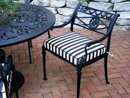 black and white striped outdoor cushions black and white striped outdoor chair cushion traditional patio black