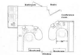Home office plan Two Person Office Single Office Floor Plan With Next Step In Home Office Design Is To Plan How Custom Cabinetry Design Single Office Floor Plan