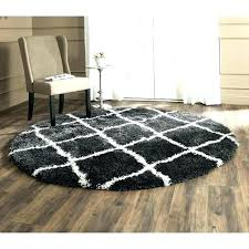 small round area rugs black and white rug kitchen