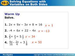 6 pre algebra