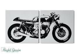 bmw motorcycle wall art