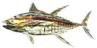 metal fish wall art nz