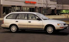 1993 Toyota Corolla DX Wagon | Archived Instrumented Test ...