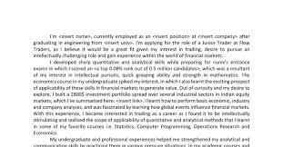 Stock Market Trader Cover Letter Argumentative Essay Teenage Pregnancy