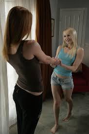 Ashley Jane with Pierced Pussy Wearing Jeans Shorts Enjoying.