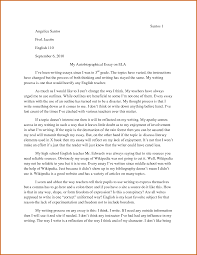 sample of biographical essay co sample of biographical essay