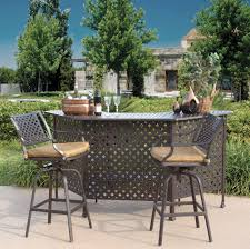 diy patio bar table. DIY Outdoor Bar Height Table And Chairs Diy Patio