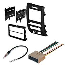 amazon com ford 2009 2012 f 150 car radio stereo radio kit dash car stereo wiring harness kit ford 2009 2012 f 150 car radio stereo radio kit dash installation mounting wiring harness