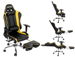 com merax big and tall back ergonomic racing style adjule chair executive office chair yellow tall and big kitchen dining