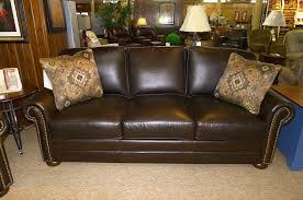 King Hickory 4400 Leather Sofa