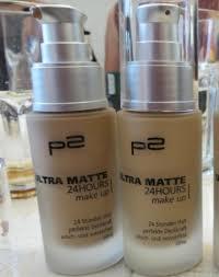 p2 cosmetics ultra matte 24 hours