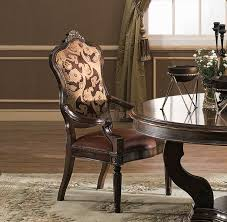 georgia arm chair shown in antique chestnut finish