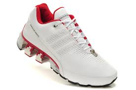 white red adidas porsche design sport men s bounce s l p 5000 leather running shoes