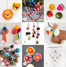 diy pom pom project ideas 100 layer cakelet