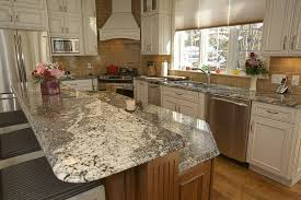 Kitchen Tables With Granite Tops Granite For Kitchen Awesome Kitchen Island With Super White