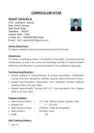 Engineering Resume Template Templates Chemical Sample Pdf Cv Free