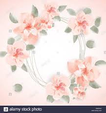 Design Paper Background Flower Watercolor Floral Background For Text Paper Cut Design
