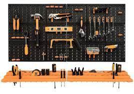 wall mounted garage shed tool rack