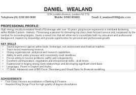 CV Hobbies And Interests Sample