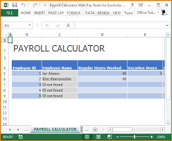 Paycheck Calculator For California Pay Stub Calculator California California Payroll Calculator Free