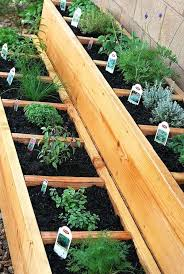 cedar vegetable garden box divided raised herb garden bed cedar vegetable garden box plans