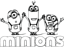Despicable Me Coloring Pages Fashionadvisorinfo