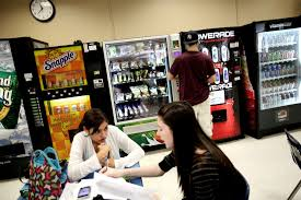 Vending Machines In Schools And Obesity Enchanting Michelle Obama Wants To Cut Junk Food Sodas From Schools MSNBC