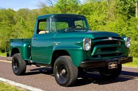 1958 International-Harvester A120 Three-quarter Ton 4×4 Pickup Truck ...