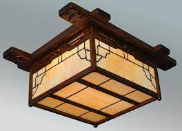 arts and crafts lighting craftsman