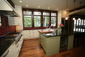 Medium Brown Kitchen Cabinets Off White Kitchen Cabinets With Marble Countertops Traditional
