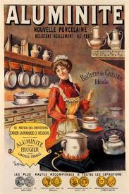 Good COOK COOKING ALUMINUM PAN OLD KITCHEN SMALL VINTAGE POSTER CANVAS REPRO