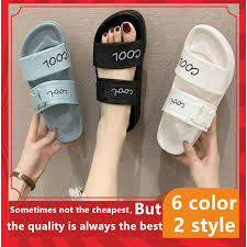 【LaLa】<b>NEW summer</b> two strap rubber <b>slippers women shoes</b> ...