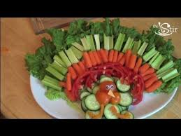 Decorative Relish Tray For Thanksgiving Turkeyriffic Thanksgiving Veggie Tray Crafty Mom's Weekly 2