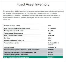 Asset Inventory Template Fixed Assets Register Free Excel – Rigaud
